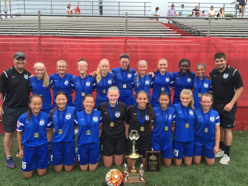 01 Elite Girls named Regional Champions!