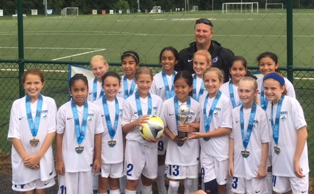 Elite Academy Girls 06/07 Blue win the Chesapeake Cup!