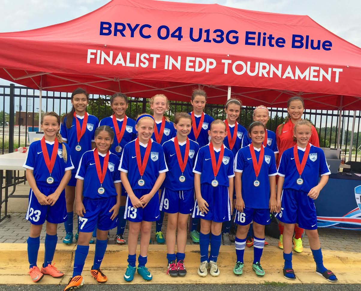 Elite Academy Girls 04/05 Blue Finalists at EDP Fall Kickoff!