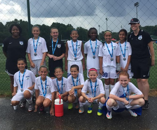05/06 Blue Girls Finalists at the Chesapeake Kickoff Challenge