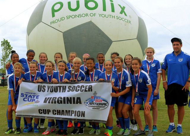 03/04 Girls win the Virginia State Cup!