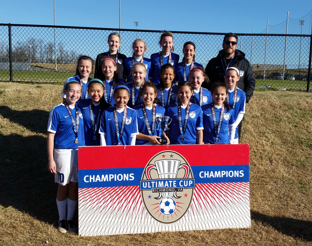 02/03 Girls - Ultimate Cup Champions